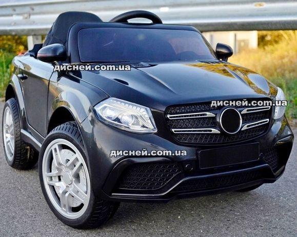 Детский электромобиль 3181 черный Mercedes, Дитячий електромобiль