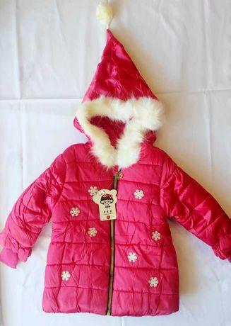 Куртка курточка на дівчинку девочку дитяча детская ЗИМА