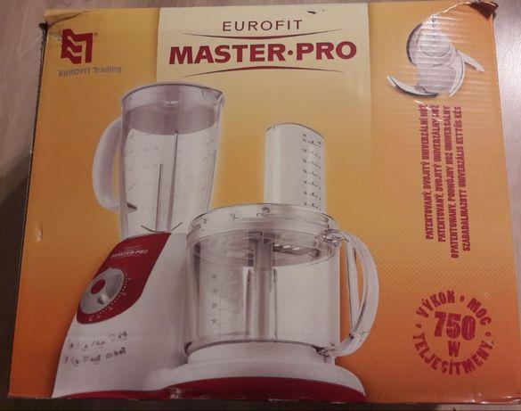 REZERWACJA Robot kuchenny EUROFIT MasterPro 750W nowy + przepisy