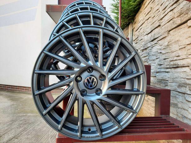 ALUFELGI NOWE VW 18 5x112 Turan Passat Golf Jetta Scirocco KESKIN KT17