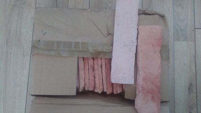 Płytki cegły z piaskiem z Sopotu