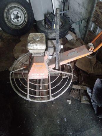 Zacieraczka spalinowa do betonu
