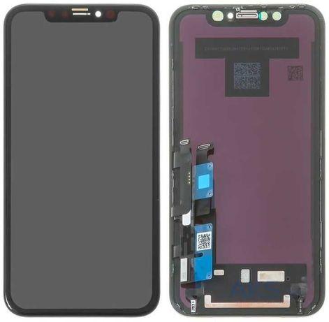 Дисплей для iPhone XS Max (6.5) с тачскрином в сборе, incell, черный