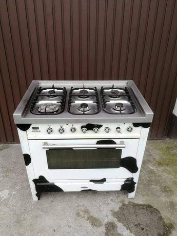 Kuchnia gazowa na 6 palników