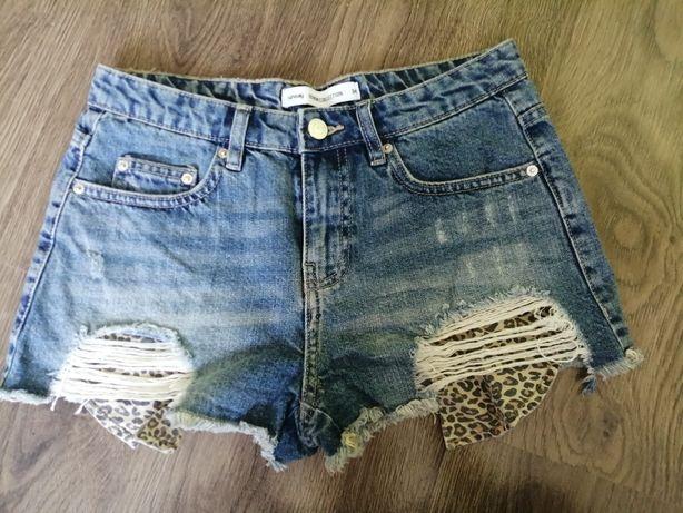 Spodenki szorty jeans Sinsay 34