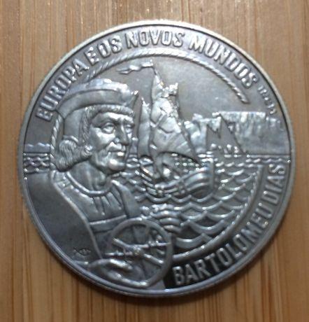 Medalha 2 1/2 Ecu - BARTOLOMEU DIAS 1993 = 10€