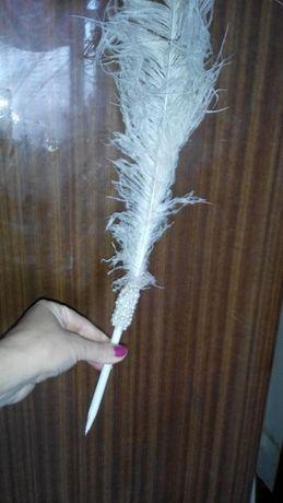 Ручка перо свадебная