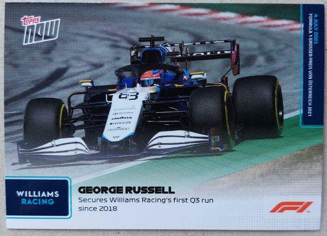 Topps Now F1 Formula 1 2021 Cartas #27 - #36