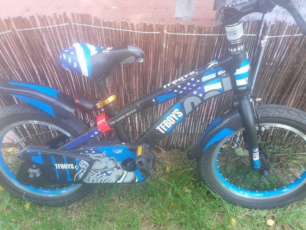 Rowerek dla chlopca kola 16