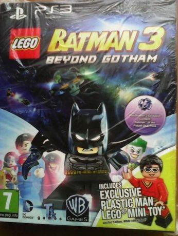 Jogo PS3 Lego Batman 3 com caixa cartão + Toy Lego