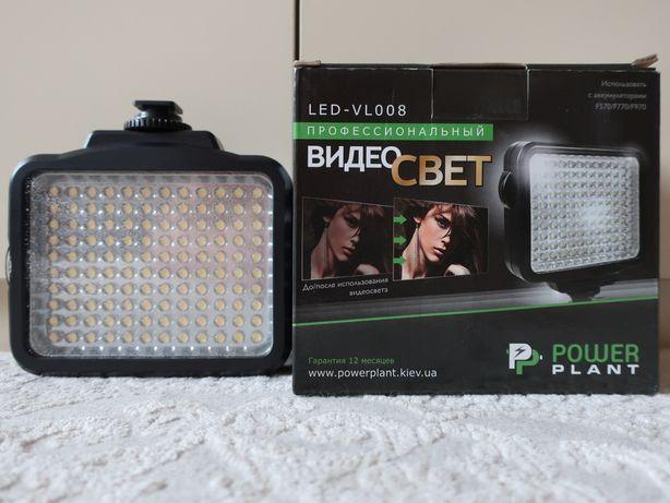 Накамерный свет PowerPlant LED 5009.