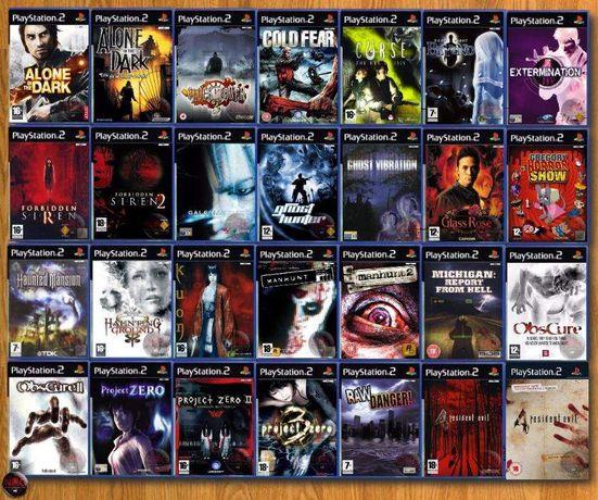 [PS2] 50 jogos TERROR/Survival Horror (Vendo à Unidade - Ver Preços ↓)