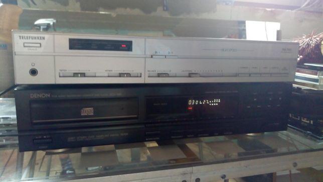 Wzmacniacz Telefunken HA 700 + CD Denon