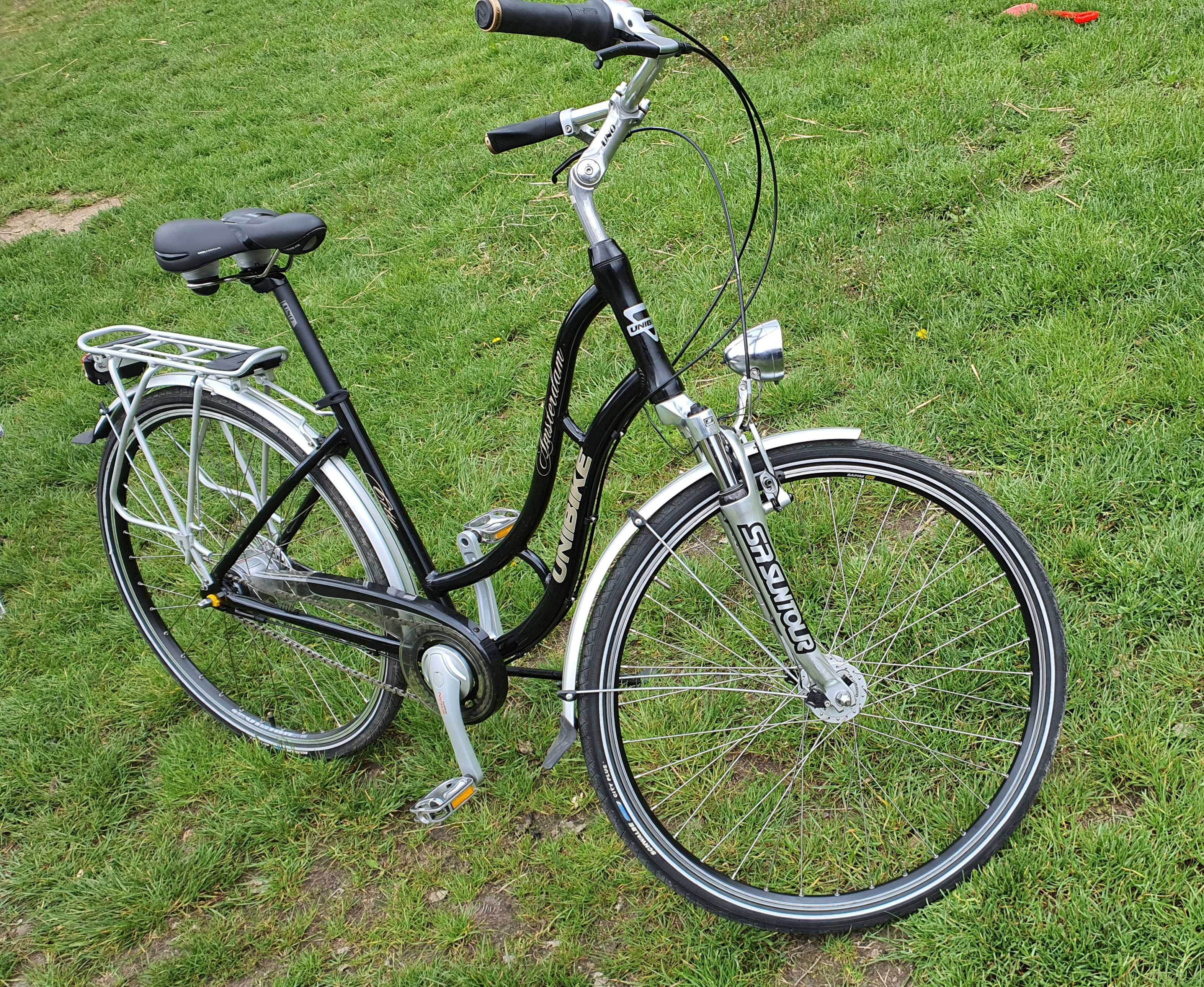 Rower miejski treking Unibike Amsterdam city