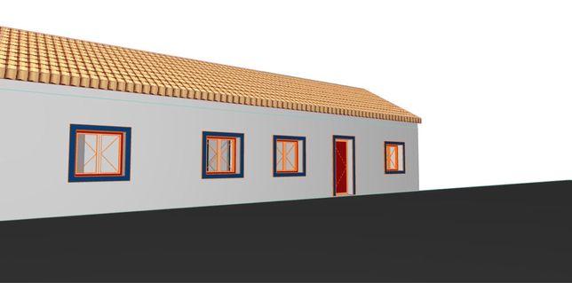 Costa Alentejana- Casa de campo para recuperar
