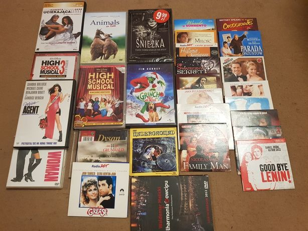Sprzedam filmy 29 szt za 15zł!