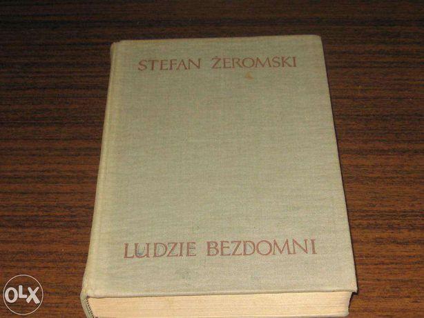 Ludzie bezdomni Stefan Żeromski Kolekcje z PRL-u z dedykacją