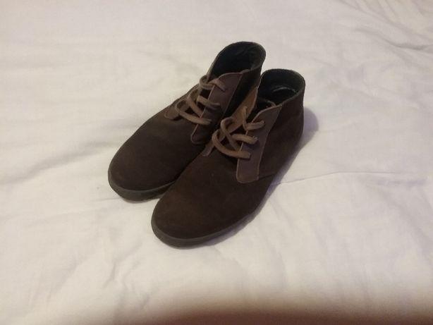 Sapato botim marca bata