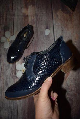 Туфли из натуральной кожи класса премиум, очень красивые