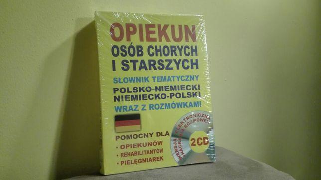 Opiekun osób chorych i starszych, Słownik tematyczny pol-niem + 2CD