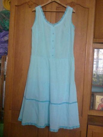 Платье 50 р . Жатка хб.