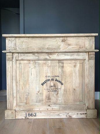 barek drewniany - vintage