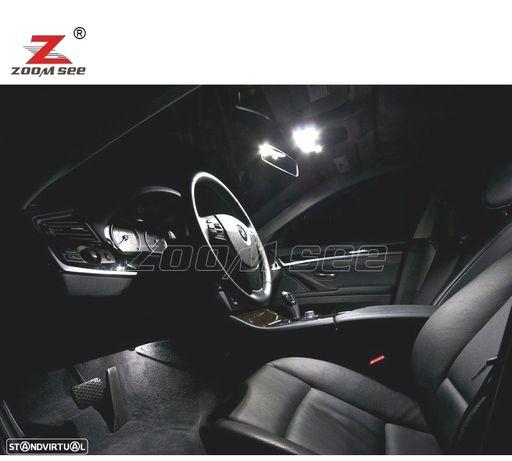 KIT COMPLETO DE 19 LÂMPADAS LED INTERIOR PARA BMW 5 SERIE F07 5GT HATCHBACK 528I GT 535I GT 550I GT