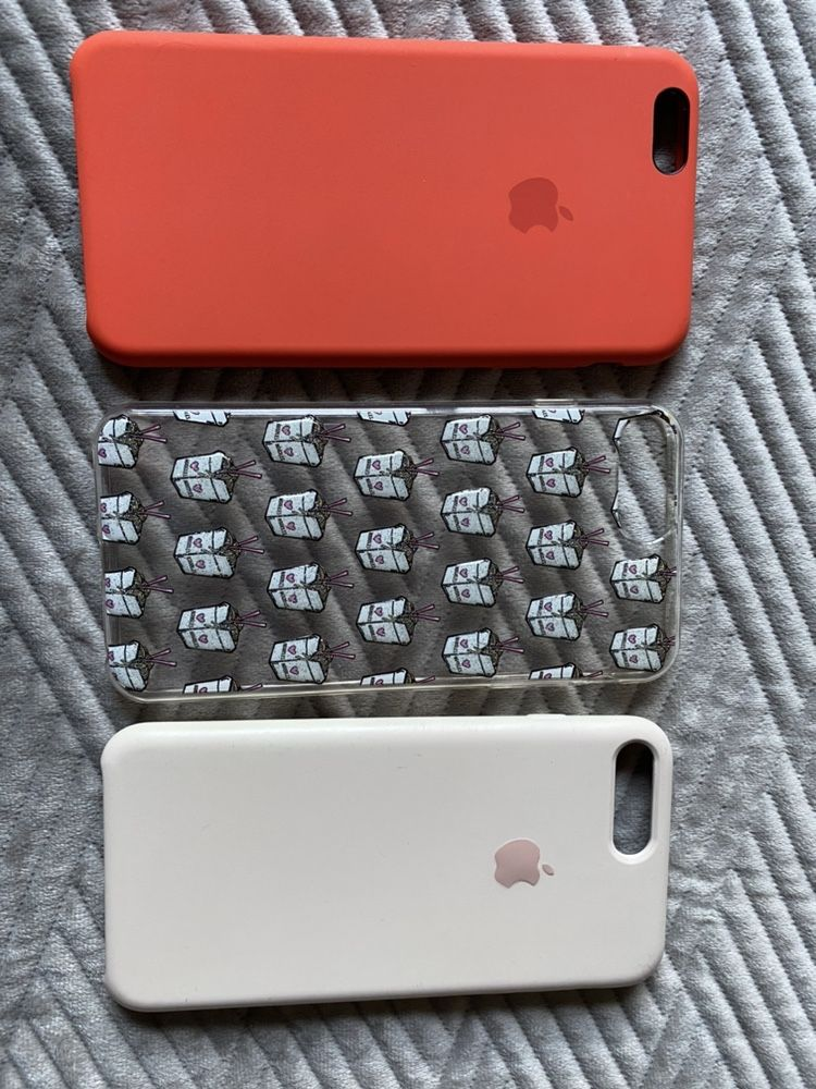 Komplet 3 etui, case do iphone 6/7/8