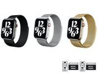 Pasek Smartwatch Apple Watch 38/40, 42/44 mm Crong Milano Steel