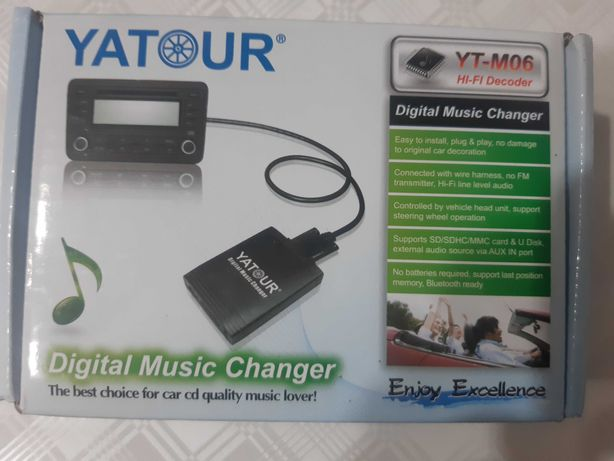 Cyfrowa zmieniarka MP3 USB  YATOUR  Alfa Romeo Fiat Lancia