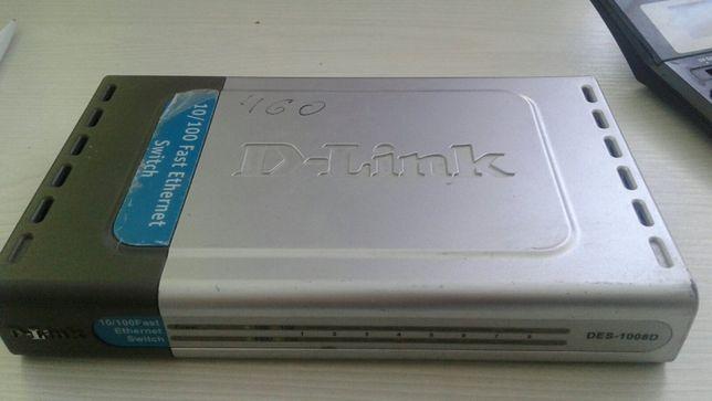 Switch D-Link DES-1008D світч