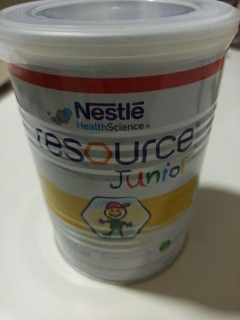 Суха молочна суміш Nestle Resource junior з ароматом ванілі 400 г