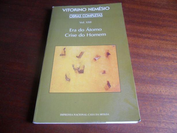 """""""Era do Átomo / Crise do Homem"""" de Vitorino Nemésio"""