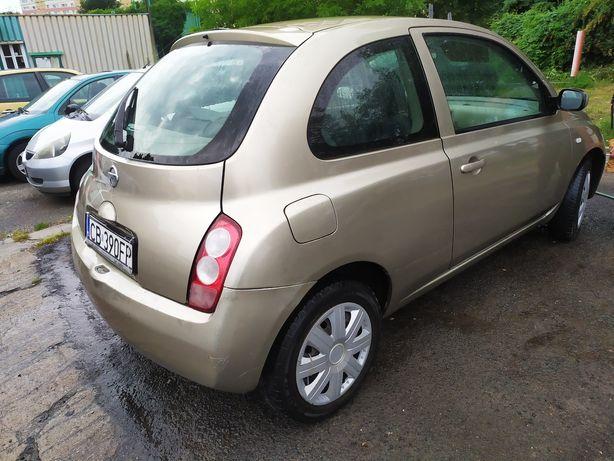 Nissan Micra 1.2 kat 2005 r zamiana