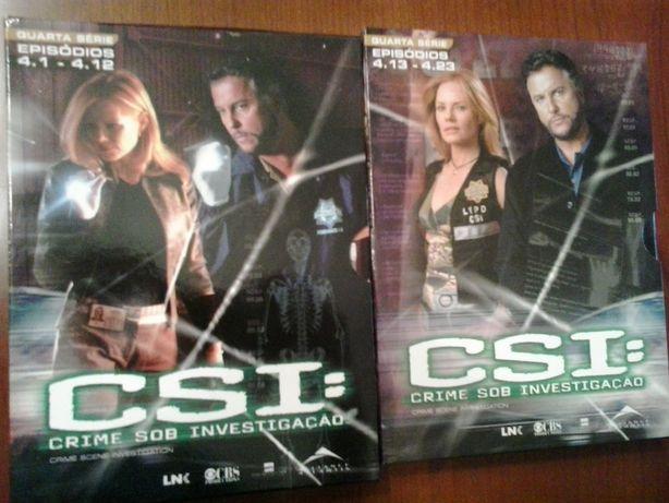 Pack dvd's CSI