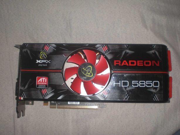 Karta Graficzna XFX Radeon HD 5850  Sprawna