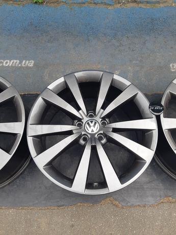Goauto комплект оригинальных дисков Volkswagen Passat 5/112 r19 et48 8