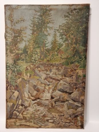 Obraz olejny pocz XX w