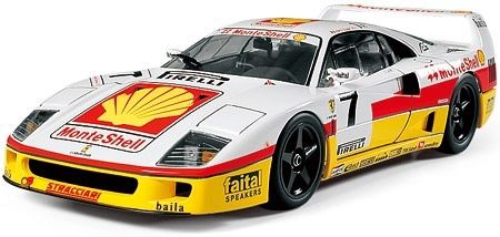 Tamiya 1/24 Ferrari F40 Competizione kit novo do Ja