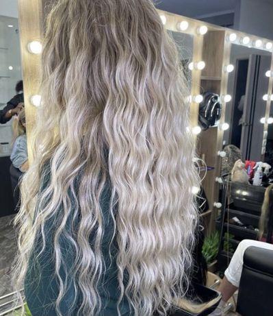 Наращивание волос киев 4200 грн ( работа + волосы)