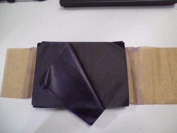 Бумага копировальная фиолетовая