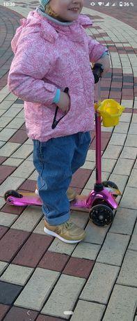 Самокат, трехколесный, I trike, scooter, от 2 х лет