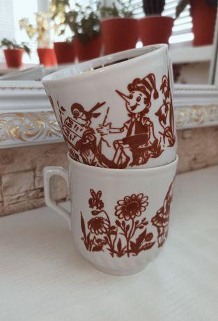 Дитячі чашечки СССР Стан нових Дефекти відсутні, малюнок збережено