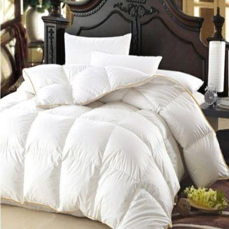 Одеяло пуховое двухспальное Lux-Fom.