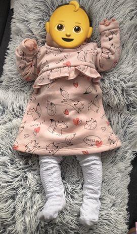 Ocieplana sukienka Reserved Kids rozmiar 62