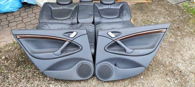 Citroen C5 I fotele skórzane