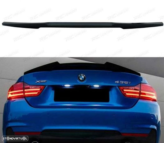 SPOILER LIP BMW SERIE 4 F32 13-18COUPE LOOK M4