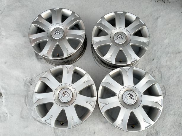 Felgi aluminiowe 18 cali 4x108 et 26 Citroen C4 Picasso C3 Berlingo