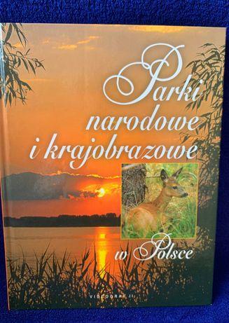 Książka - Parki narodowe i krajobrazowe w Polsce Praca zbiorowa Videog