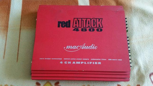 Усилитель Mac Audio \red ATTACK 4800\400W.